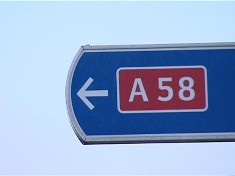 A58 ter hoogte van knooppunt Galder onderhoudswerkzaamheden