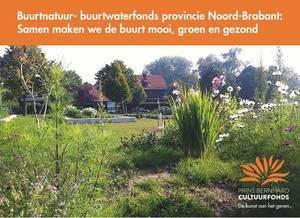 Buurtnatuur- en buurtwaterfonds: doe mee met de vergroening van je buurt!