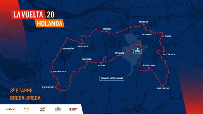 De 3e etappe van de Vuelta a España 2020 door onze gemeente!