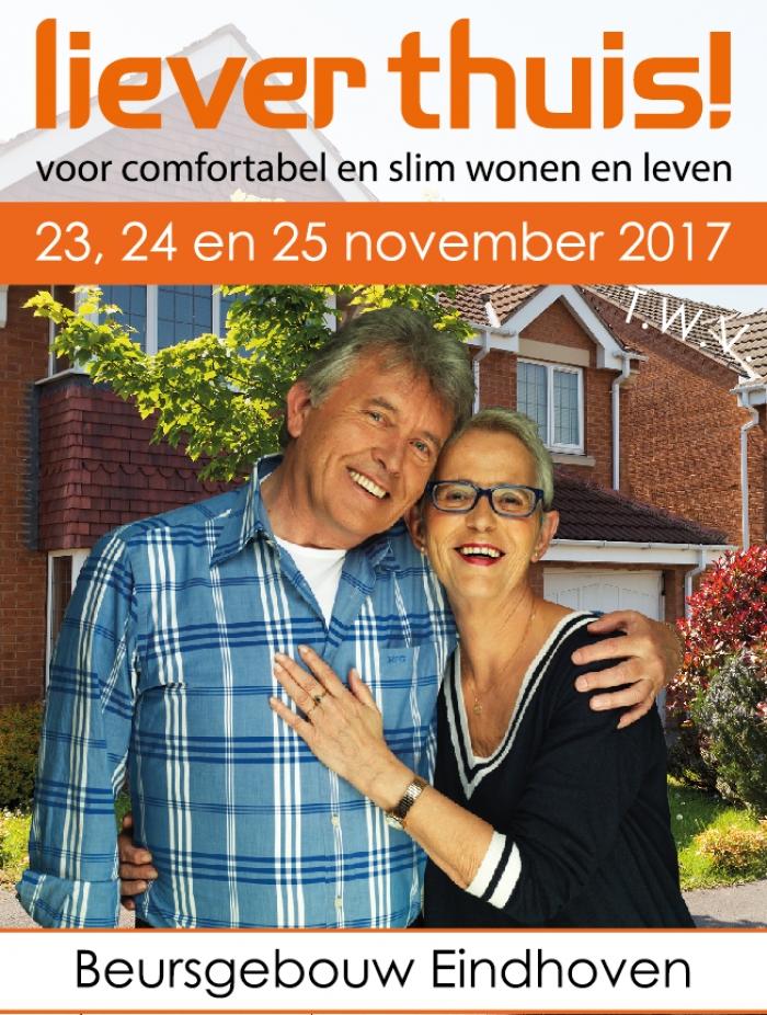 Gratis rondleidingen Liever thuis! Beurs Eindhoven, 23, 24 en 25 november 2017