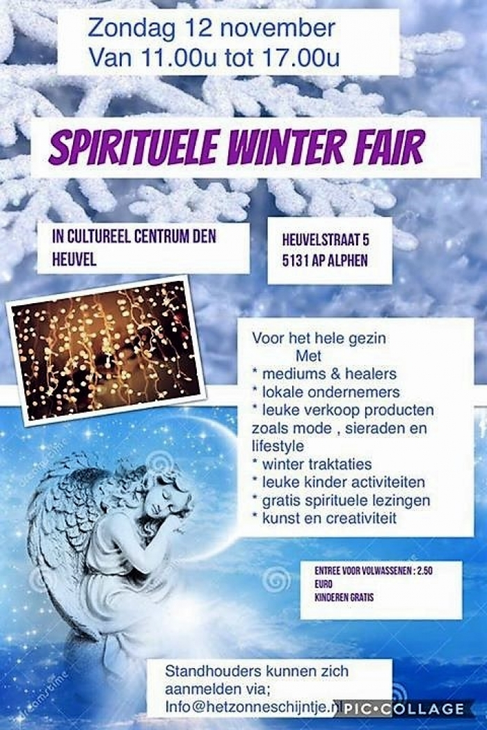 Spirituele Winter Fair voor het hele gezin.
