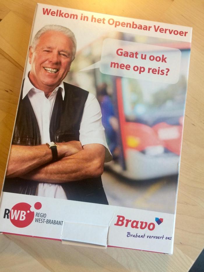 Informatiepakket over het openbaar vervoer in Het Trefpunt