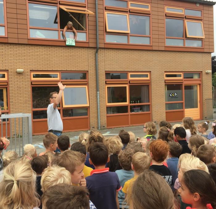 Plastic doppen actie Willibrordusschool mijlpaal bereikt! Meer dan 3000 KG
