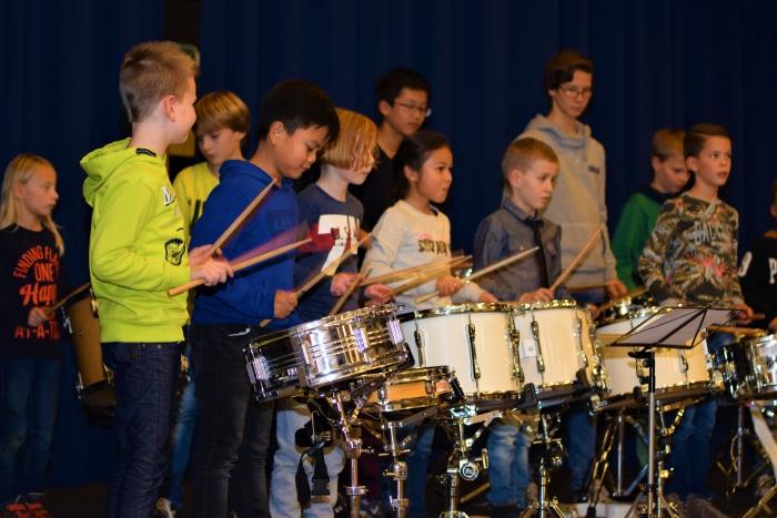 "Eindpresentatie School-Muziek-project ""Ons Orkest"""