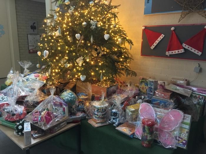 Kerstviering Willibrordusschool Goede Doelen Actie