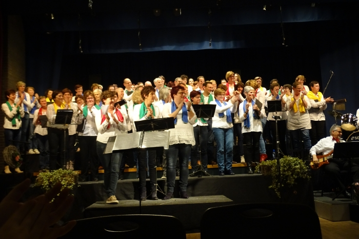 Jublileumconcert Cambo koor Chaam i.s.m. Fioretti koor Alphen