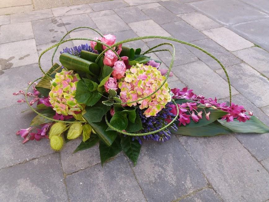 """Deelname Fier la Fleur op Open dag Natuurbegraafplaats """"De Hoevens""""."""