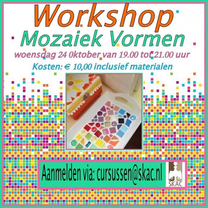 Workshop Mozaïek vormen