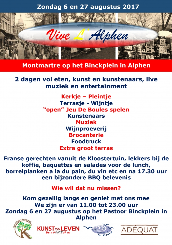 Vive L'Alphen 27 Augustus