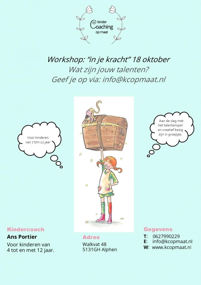 Workshop omgaan met emoties voor kinderen