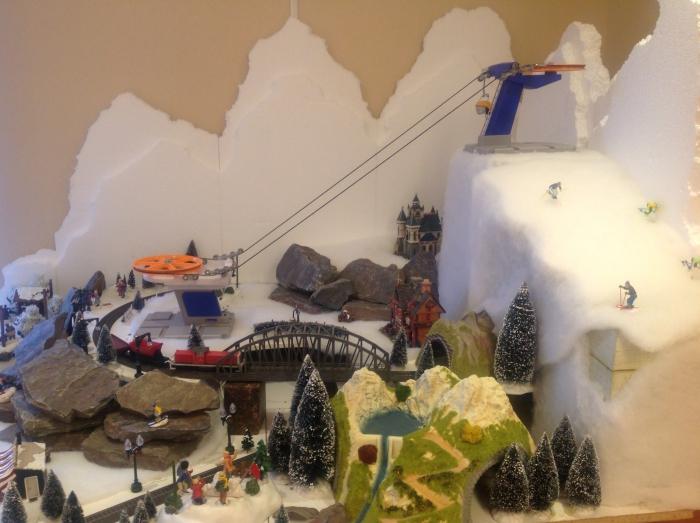 Kerst gezelligheid in de van leuvenlaan