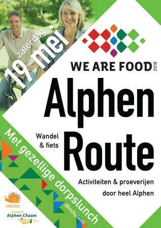 We Are Food   Alphenroute
